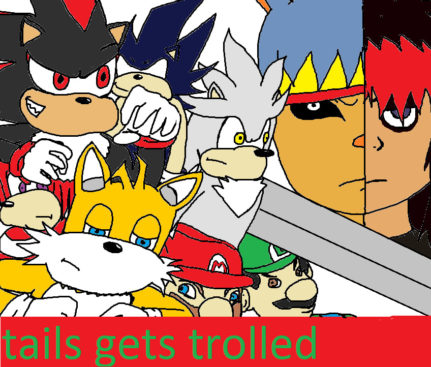 tails gets trolled cover